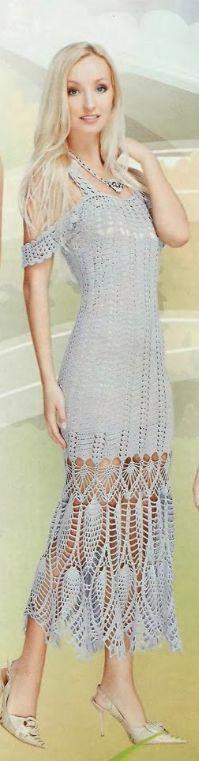 Crochet dress….