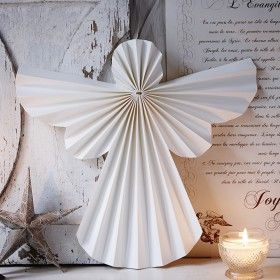 Folded Paper Angel