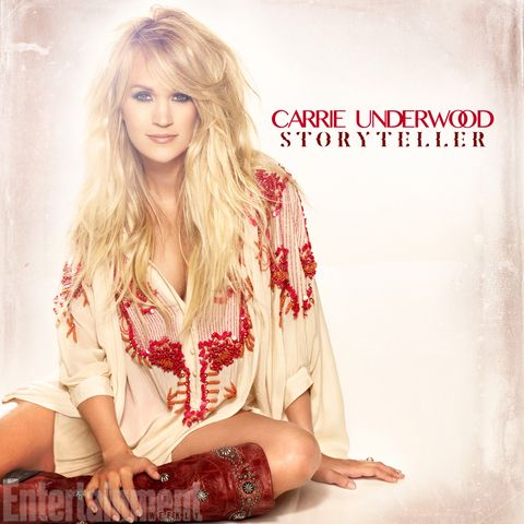 You Won't Believe How Gorgeous Carrie Underwood Looks on the Cover of Her New Album from InStyle.com