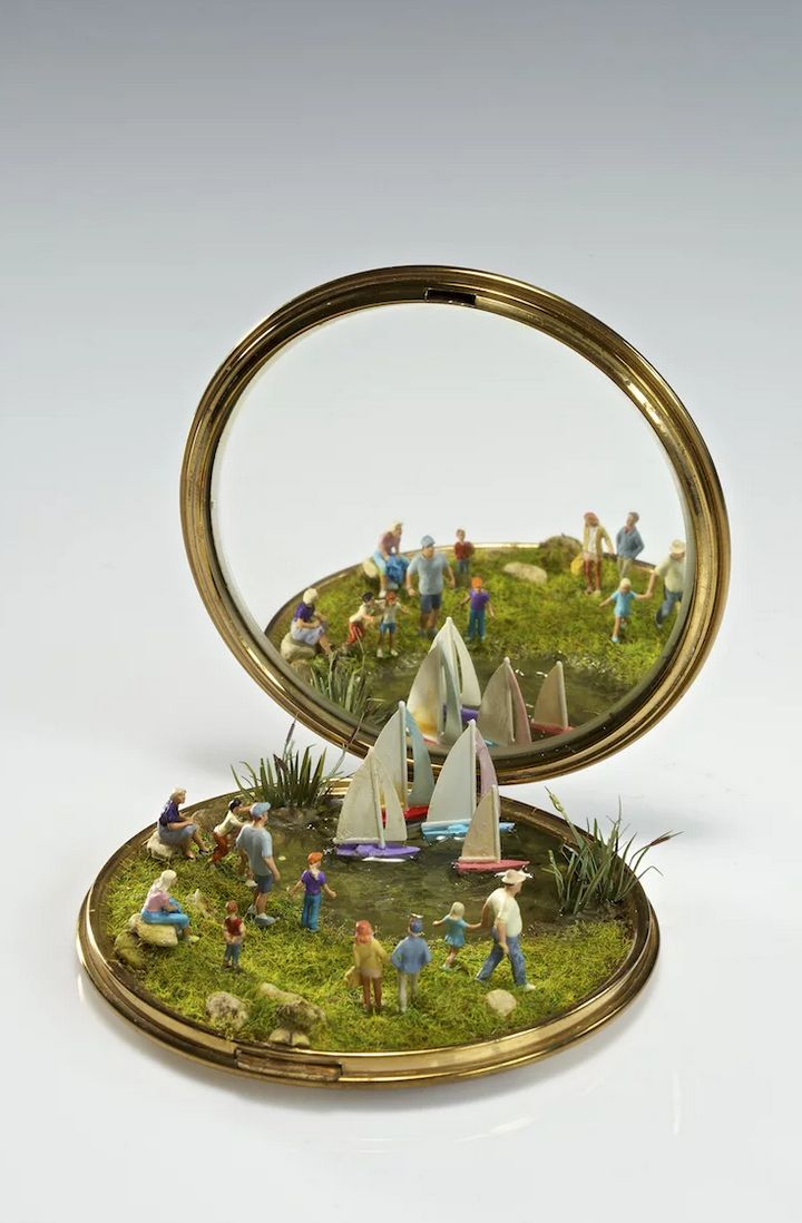 Kendal Murray Creates Magical Miniature Worlds Using Everyday Objects