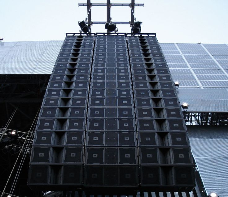 Jbl Vertec Line Array Sound Light Music Stage Studio
