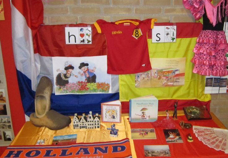 Landen: Nederland en Spanje