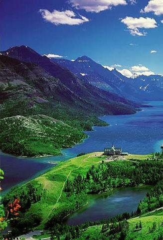 Waterton Lakes National Park, Canada- this is one of the most beautiful places on Earth-  you need to see it to believe it