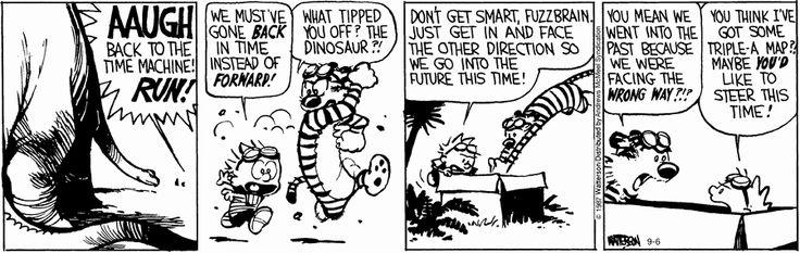 Calvin and Hobbes strip for September 6, 2017