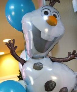 Disney Frozen Party Balloons - Olaf, Elsa - Best Halloween Costumes