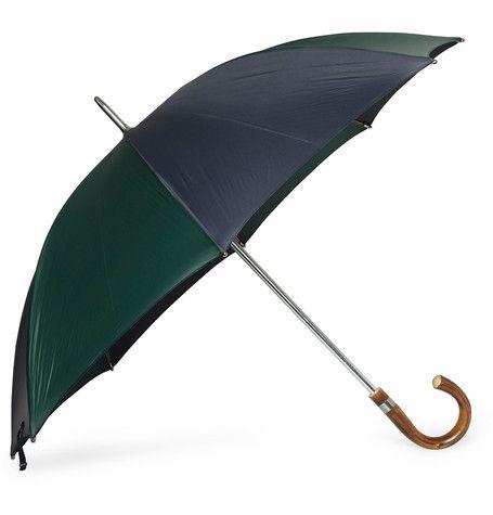 Swaine Adeney BriggWooden Handle Umbrella $200