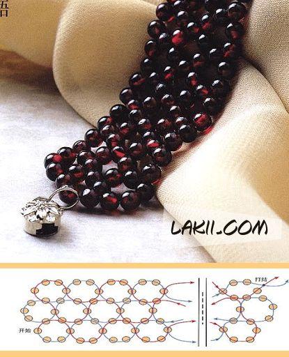 Beads bracelet PATTERN Lakii 13