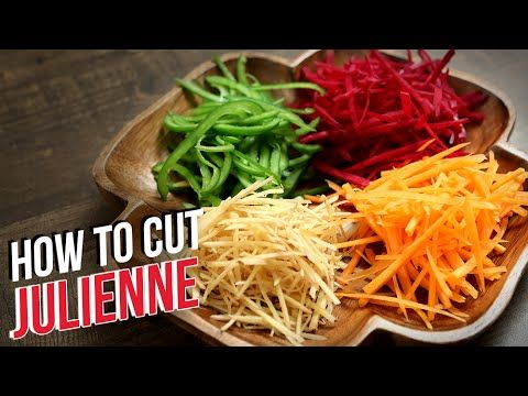 How To Julienne Vegetables   Knife Skills   The Bombay Chef - Varun Inamdar   Basic Cooking - YouTube