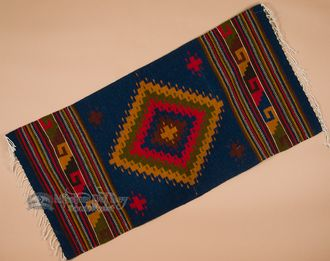 Southwestern Zapotec Indian Rug 30x60 (163)