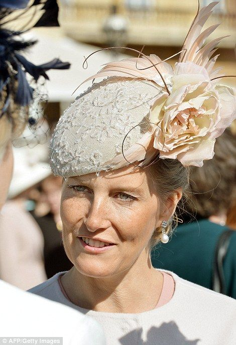Buckingham Palace's first garden party of the season 5/12/2015: Countess of Wessex