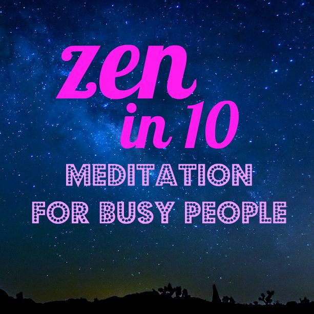 If youhave 5 minutes a day,can eat dinner sitting up& have ever noticed what you were thinking,you can meditate.