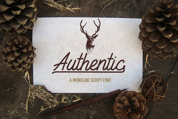 Authentic + Extras by Harmony Type Co. on @creativemarket