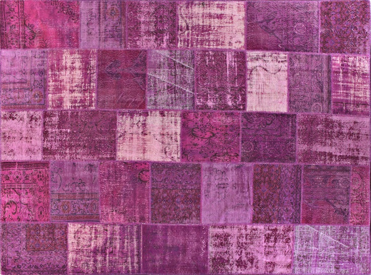 Overdyed rugs allow you to act on your contemporary color instincts.