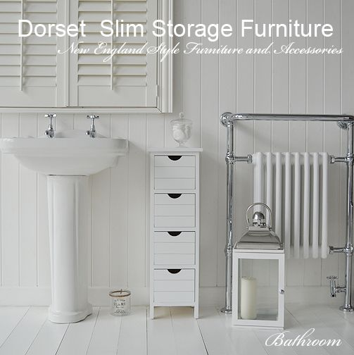 Slim Storage For Your Bathroom Only 25 Cm Wide And Deep The Dorset Is