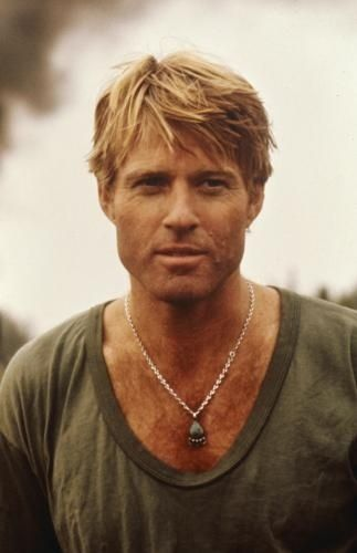 Robert Redford on the set of A Bridge Too Far (1977)