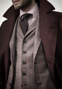 burgundy - Click image to find more Men's Fashion Pinterest pins