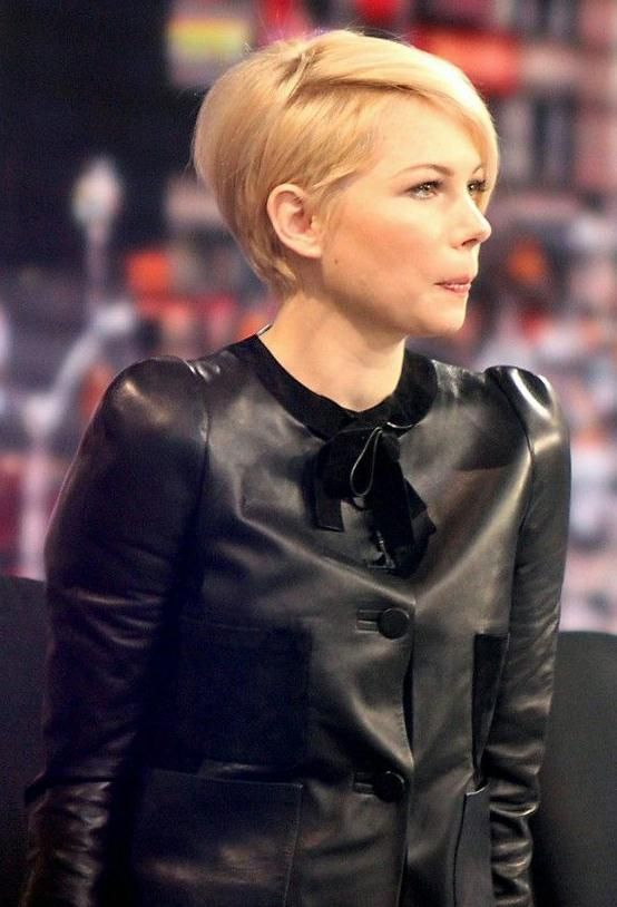 growing out a pixie cut michelle williams - Google Search