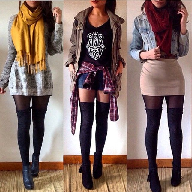 Best 25+ Thigh high socks ideas on Pinterest | Thigh socks Knee high socks and Thigh highs