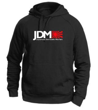 JDM Hoodie - JDM Japanese Domestic Market Hoodie / Sweatshirt | Buy Now: http://www.galloree.com/Driver-Apparel-JDM-Hoodie--71242.htm