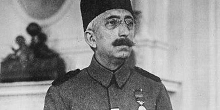 Ex sultano dell'Impero ottomano Mehmed VI va in esilio in Italia