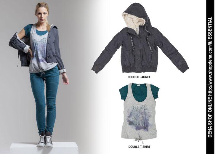 Per il vostro shopping online #DEHA #JACKET #TSHIRT http://www.shopdeha.com/it/ http://www.shopdeha.com/en/essential/45-orsetto.html http://www.shopdeha.com/en/essential/46-doppia-mc.html