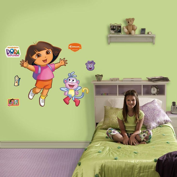 Dora The Explorer Wall Decal, Multi