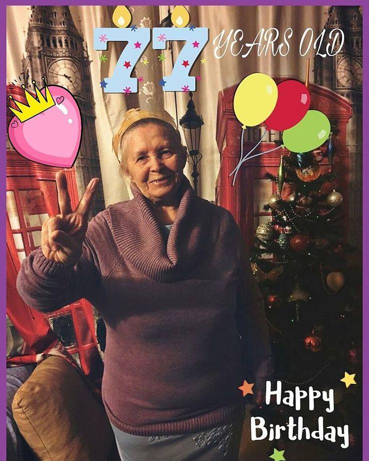 С Днем Рождения дорогая бабуля Крепкого здоровья и счастья! Люблю тебя! #деньрождение#люблю❤️#бабушка#поздравляю