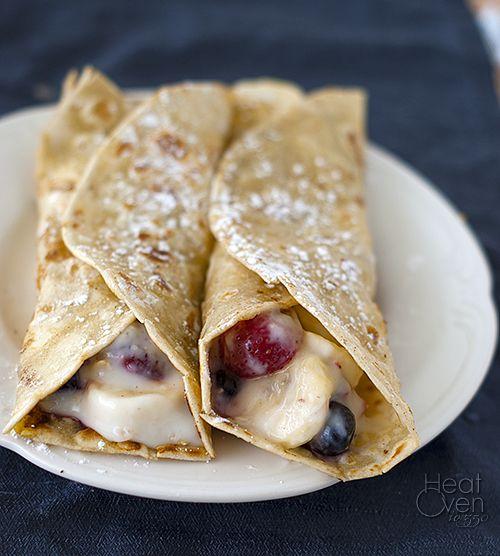 French Toast Breakfast Wraps ~ sounds like a nice change
