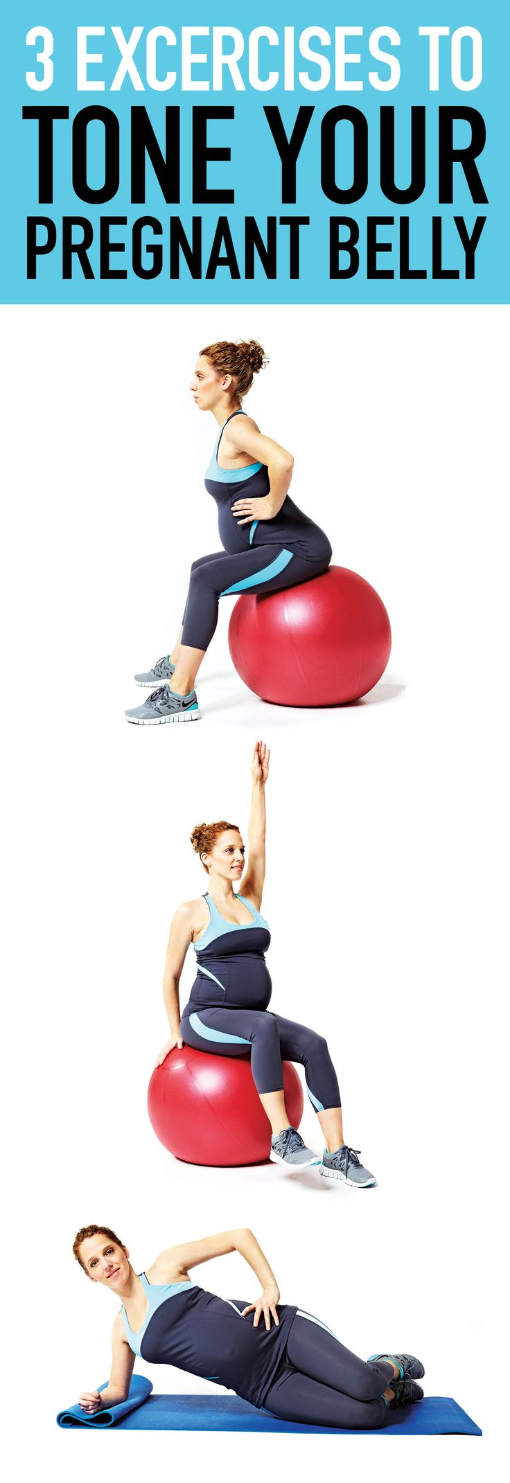Yes, you can still tone your tummy muscles while pregnant! Try these moves to strengthen your core and support your back. ---> http://tipsalud.com