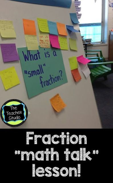 Learning to use precise math talk is SO important--and using this language to deepen our understanding of fractions was what THIS lesson was all about! Check out today's post!