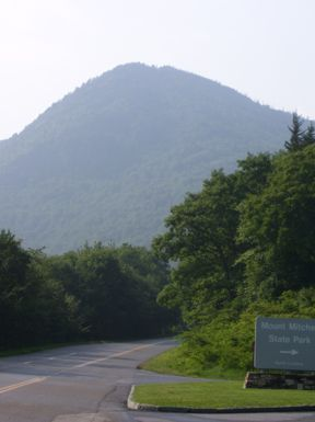 Mount Mitchell - highest point east of the Mississippi!