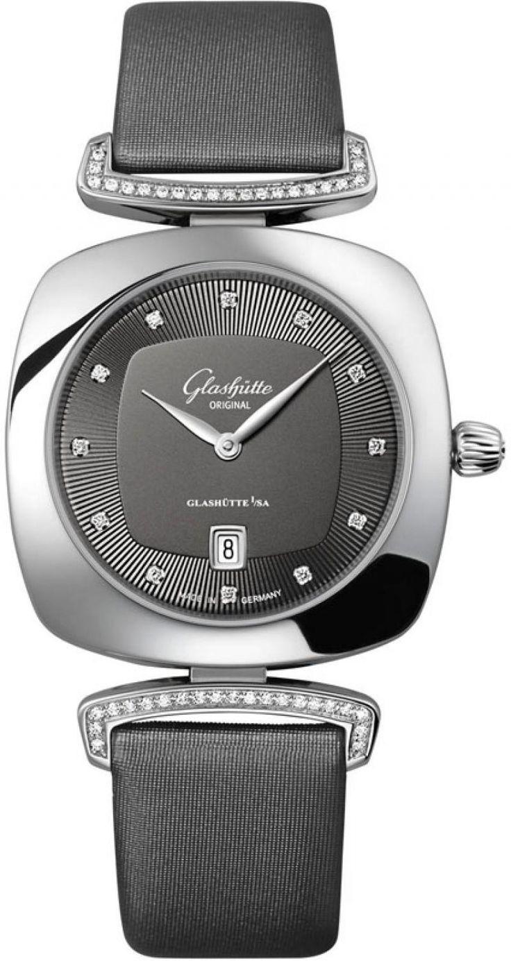 Часы Glashutte Original 1-03-01-06-12-02 Lady Serenade Pavonina швейцарские женские наручные часы