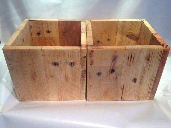 Storage Box Reclaimed Wood Storage Box Wood by SpudsCreativeAsylum - Wood Storage Box Pinterest'te Hakkında 1000'den Fazla Fikir Odun