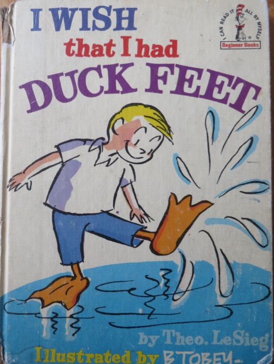 Had this book & alot of Dr Seuss. Great early readers! {GM}
