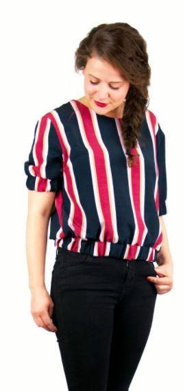 Einfaches Shirt für Damen und Herren in verschiedenen Varianten - Nähanleitung und Schnittmuster via Makerist.de