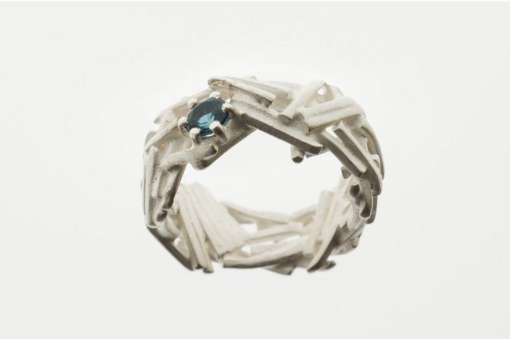 Propozycja na dziś*** #monday #jewellery #silver #topaz #handemade #naturalstone www.margot-studio.pl