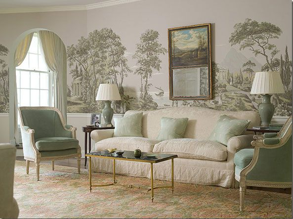 De gournay grisaille wallpaper grisaille pinterest - Grisaille wallpaper ...