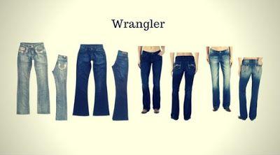 Top 12 Marcas de Calças Jeans Femininas - Calças Jeans Femininas da Wrangler