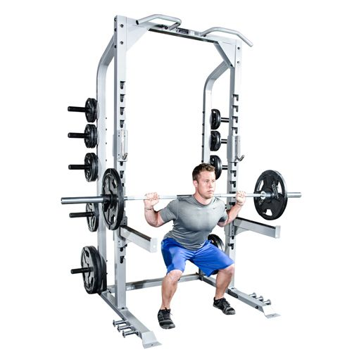 Champion constructed this #half #rack with platform with an eye toward #teams and #training. It is built to last training after training as an #effective way to teach #athletes the correct way to train. Ideal for high #school #gyms, #commercial spaces, and #home #gyms, this half rack will shine through intensive use.
