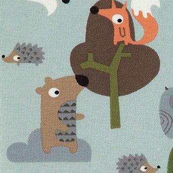 Stretch+jersey+aqua+m+skovens+dyr