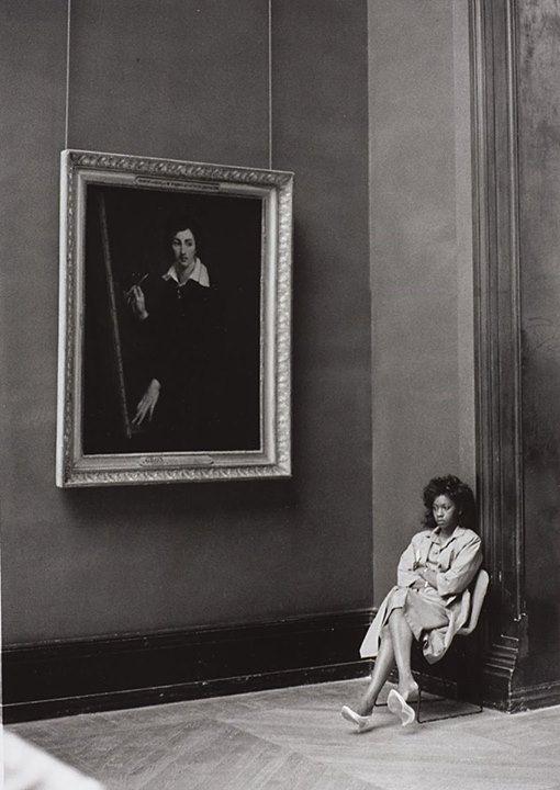 Barbara Klemm, 1987, Louvre, Paris