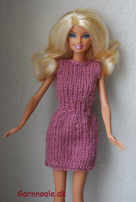 barbie strikkeopskrifter