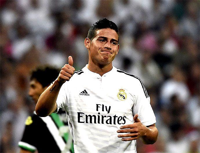 En la lente, debut de James Rodríguez en la liga española | EL PAIS