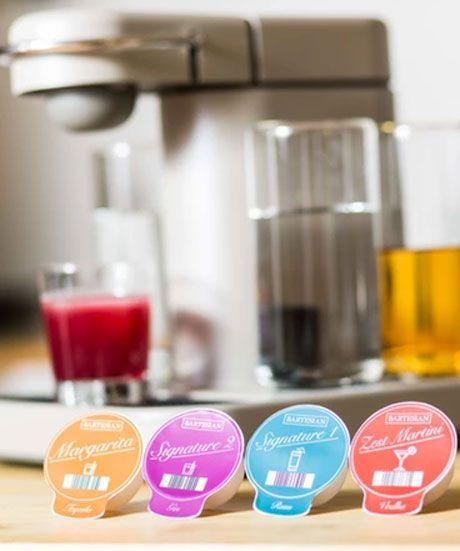 Bartesian Cocktail Machine Kickstarter | The Bartesian Cocktail Machine is like a Keurig for boozy drinks. #refinery29 http://www.refinery29.com/2015/06/89397/bartesian-cocktail-machine-kickstarter