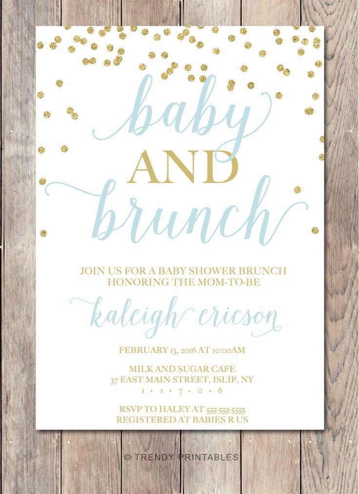 Best 25+ Brunch invitations ideas on Pinterest Baby shower - how to word baby shower invitations