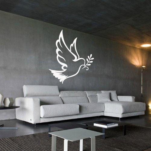 Wall decal decor decals art dove  bird  branch  by DecorWallDecals, $28.99
