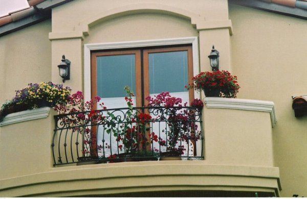 Orlando Wrought Iron Balcony Railing: 24 Best Balconies Images On Pinterest