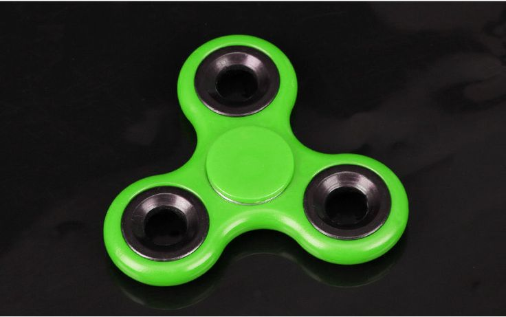 free shipping Tri-Spinner Fidget Toy Plastic EDC Hand Spinner For Autism and ADHD Rotation Time Long Anti Stress Toys Kids Gift