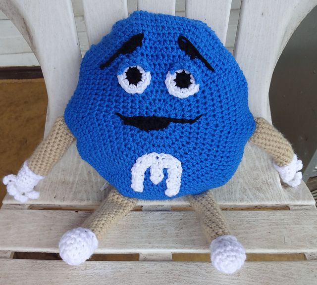 Ravelry: M&M Candies Man Pillow pattern by Diana Stanhope ...