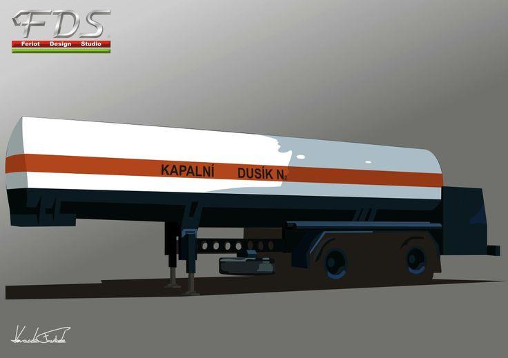BSS Gas tank trailer